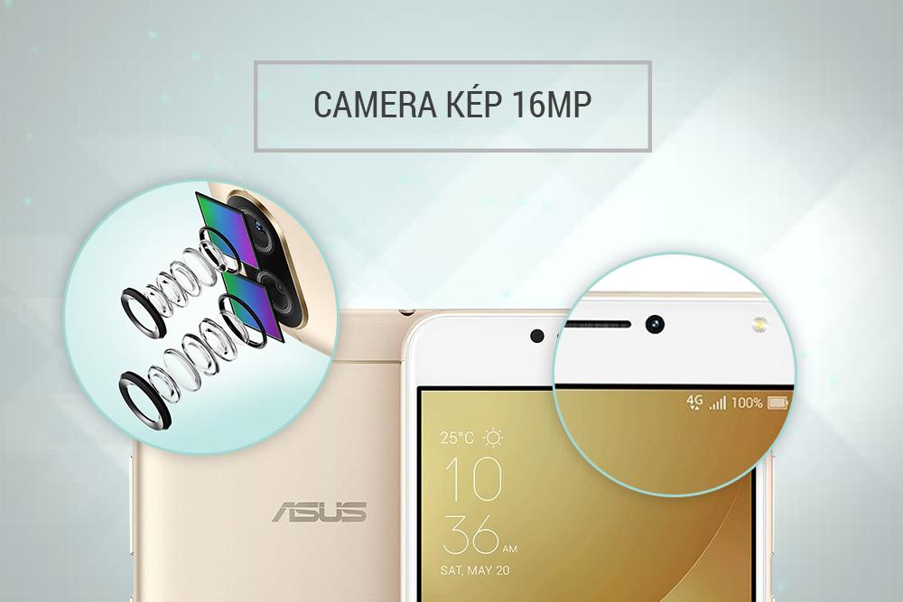 Điện Thoại Asus ZenFone 4 Max Pro (ZC554KL) - Hàng Chính Hãng