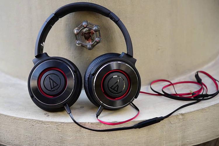 Tai Nghe Chụp Tai Audio Technica ATH-WS550iS - Hàng Chính Hãng