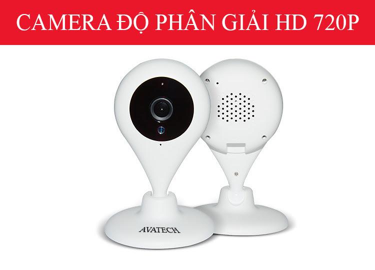 Camera Quan Sát IP Wi-Fi 180 Độ Ngày Đêm AVATech AVT-180V1 1.0