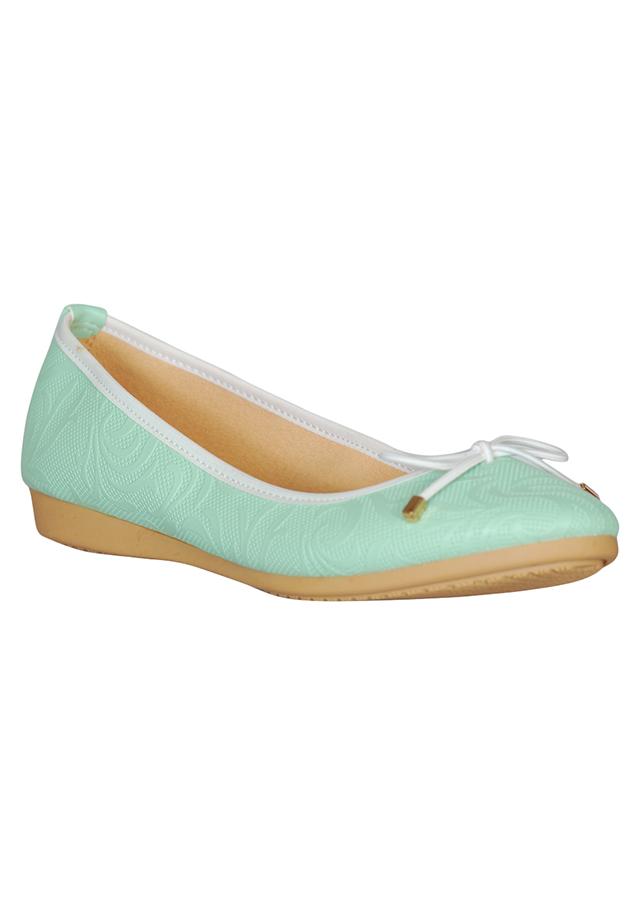 Giày Búp Bê QuickFree B160209-119 - Xanh Ngọc