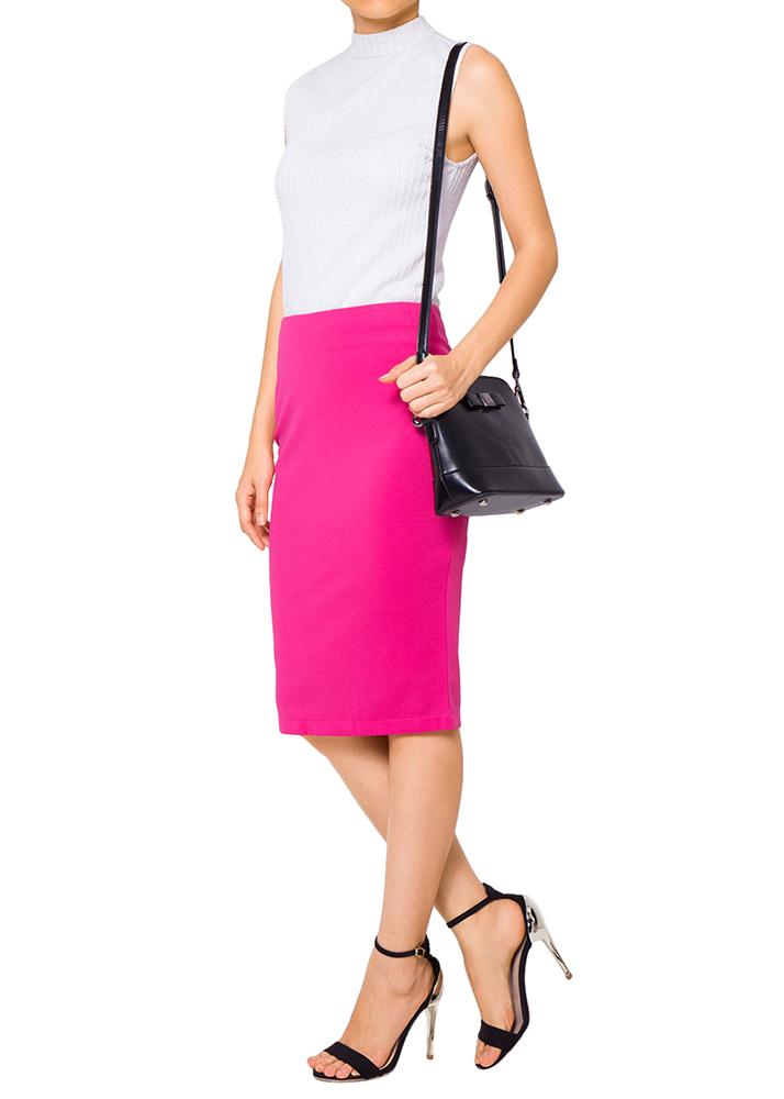 Chân Váy Bút Chì NT Fashion B5X - 02- Hồng