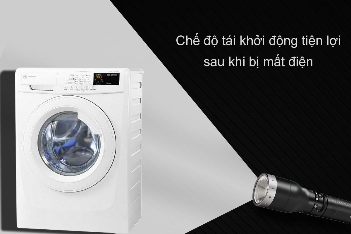 Máy Giặt Cửa Trước Electrolux EWF85743 (7.5Kg) - Trắng