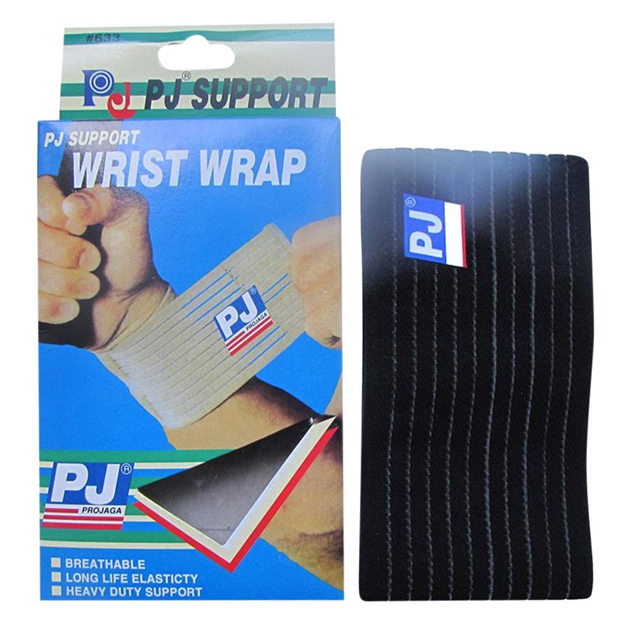 Băng Bảo Vệ Cổ Tay PJ PJ-633 - Đen