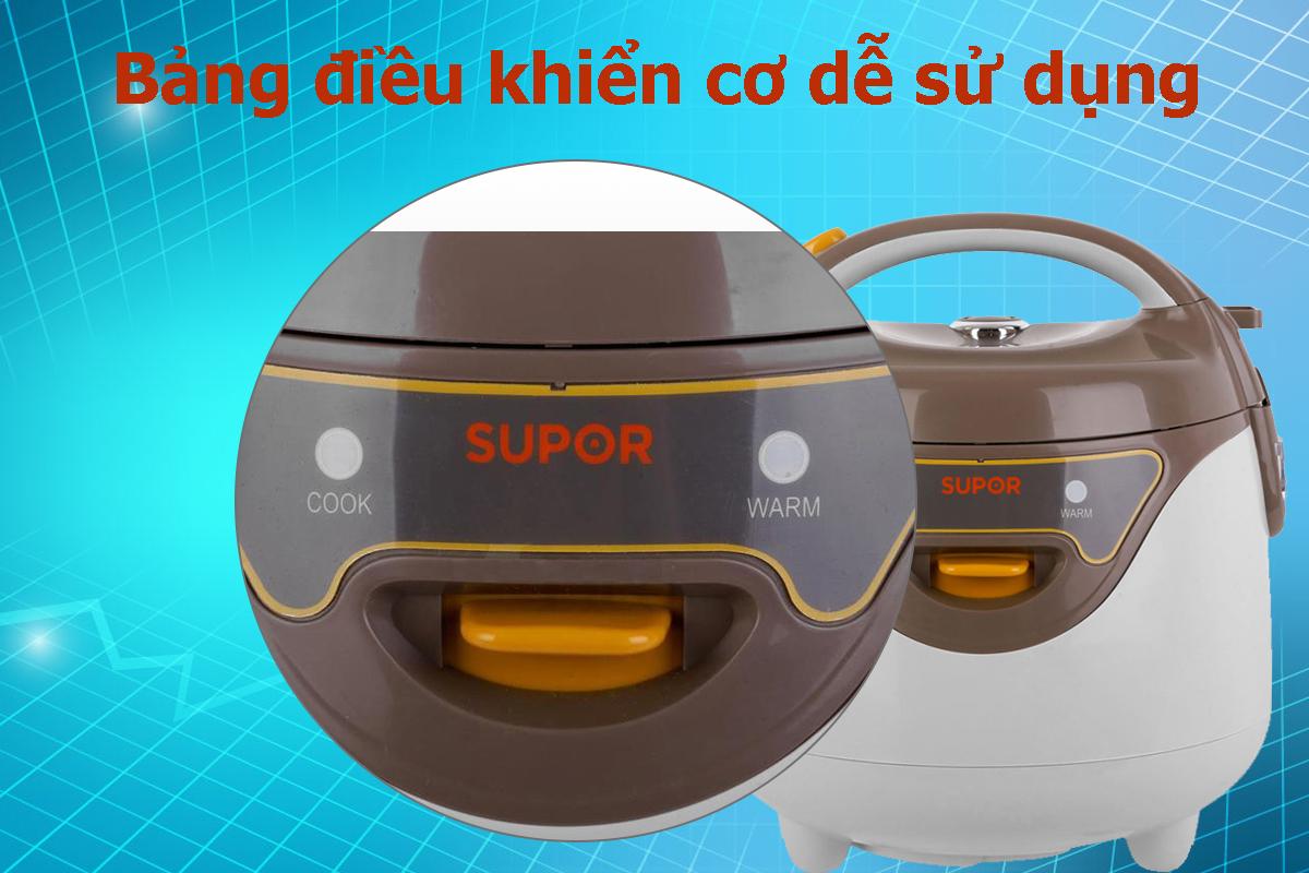Nồi Cơm Điện Mini Supor CFXB16YB3VN-36 - 0.8L