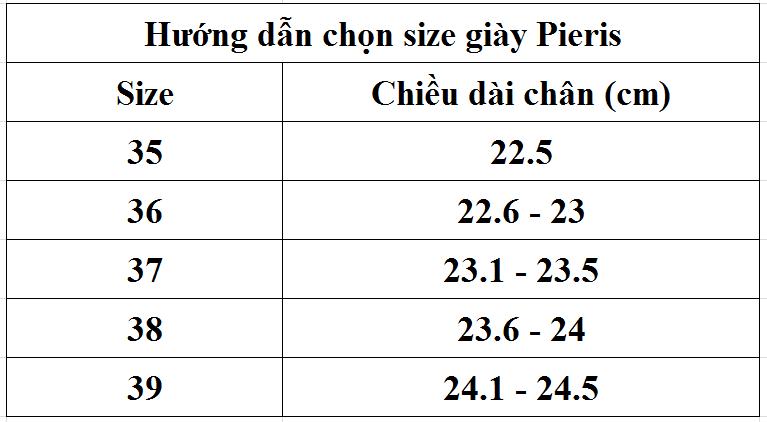 Giày Cao Gót Sandals 10cm Pieris 92024 - Đen
