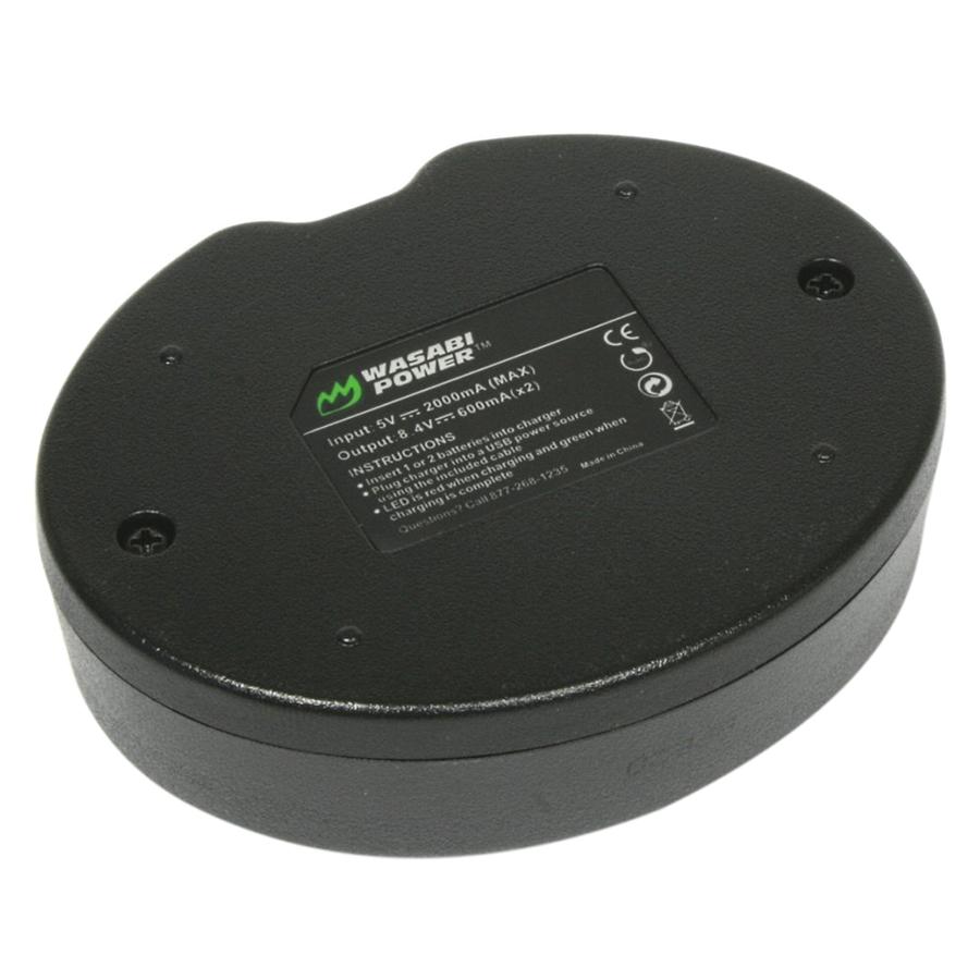 Bộ Pin Sạc Li-ion Wasabi LP-E17 (Dùng Cho Canon EOS 750D - 760D - 8000D) - Hàng Chính Hãng
