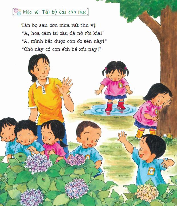 Tủ Sách Ehon - Bốn Mùa Ở Nhà Trẻ