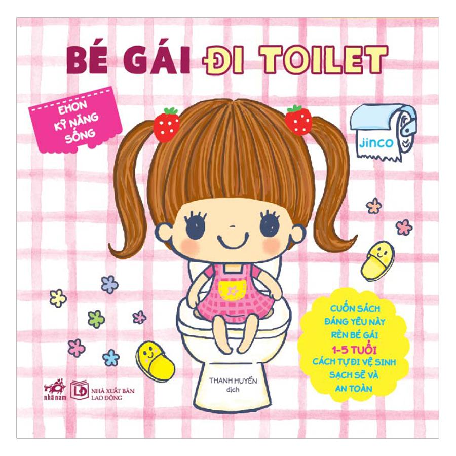 Ehon Nhật Bản - Bé Gái Đi Toilet