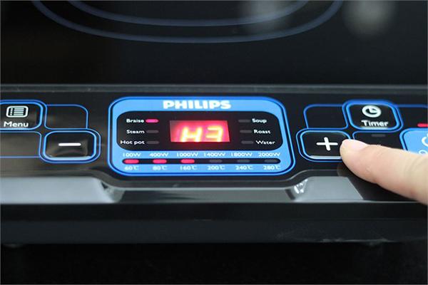 Bếp Điện Từ Philip HD4921/00