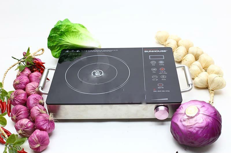 Bếp Hồng Ngoại Đơn Quai Xách SHD6008 (Kèm Vỉ Nướng)