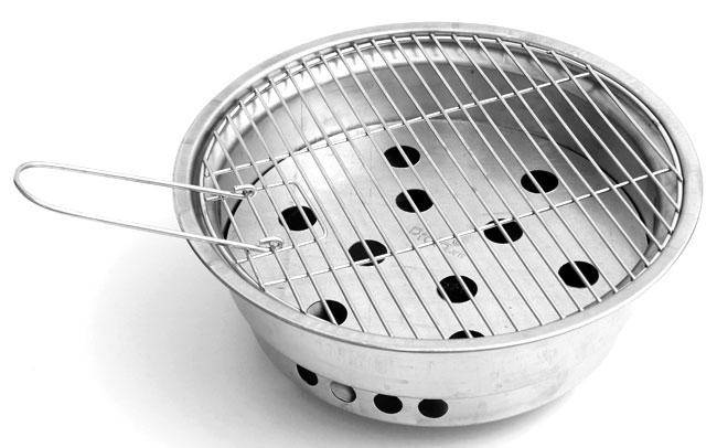 Bếp Nướng Than Inox Prota P016 - Kèm Theo 1 Vỉ Nướng