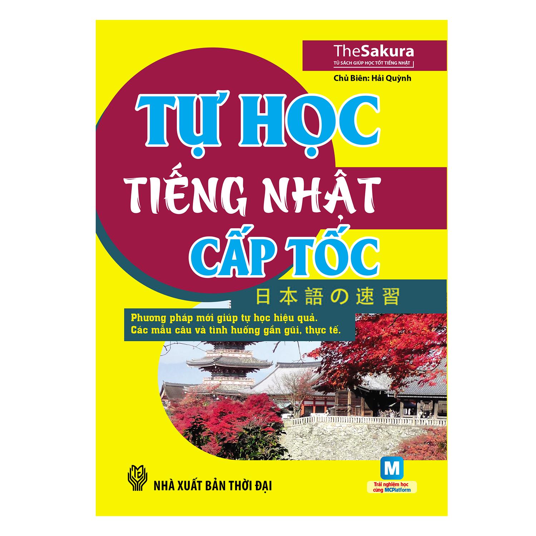Khuyên đọc sách Tự Học Tiếng Nhật Cấp Tốc (Kèm CD)