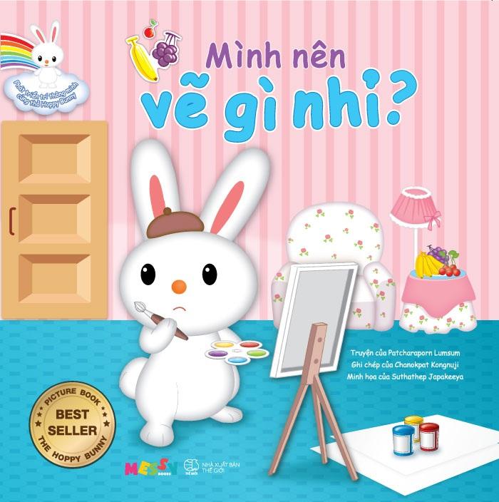 Phát Triển Trí Thông Minh Cùng Thỏ Hoppy Bunny – Mình Nên Vẽ Gì Nhỉ?
