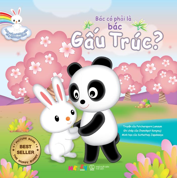 Phát Triển Trí Thông Minh Cùng Thỏ Hoppy Bunny – Bác Có Phải Là Bác Gấu Trúc?