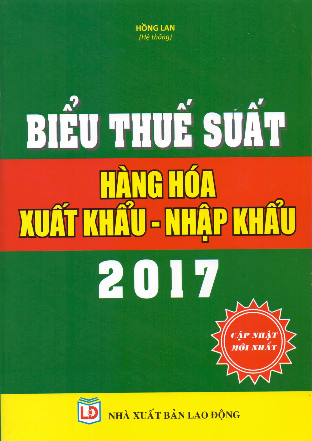 Biểu Thuế Suất Hàng Hóa Xuất Khẩu - Nhập Khẩu 2017