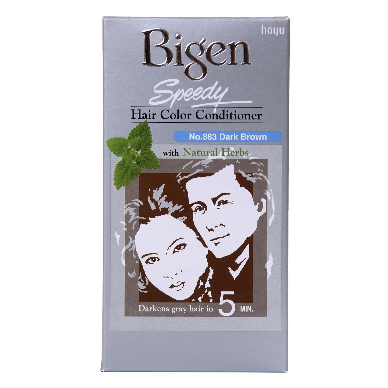Thuốc nhuộm dưỡng tóc phủ bạc thảo dược Bigen Conditioner Thương hiệu Nhật Bản 80ml dạng kem