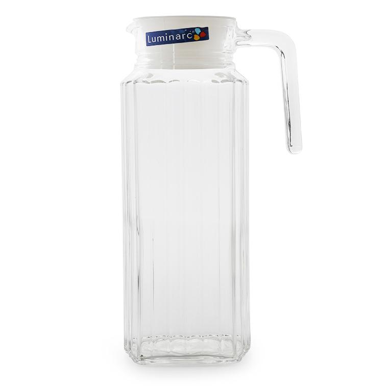Bình Nước Thủy Tinh Luminarc Quadro 53808 (1.3L)