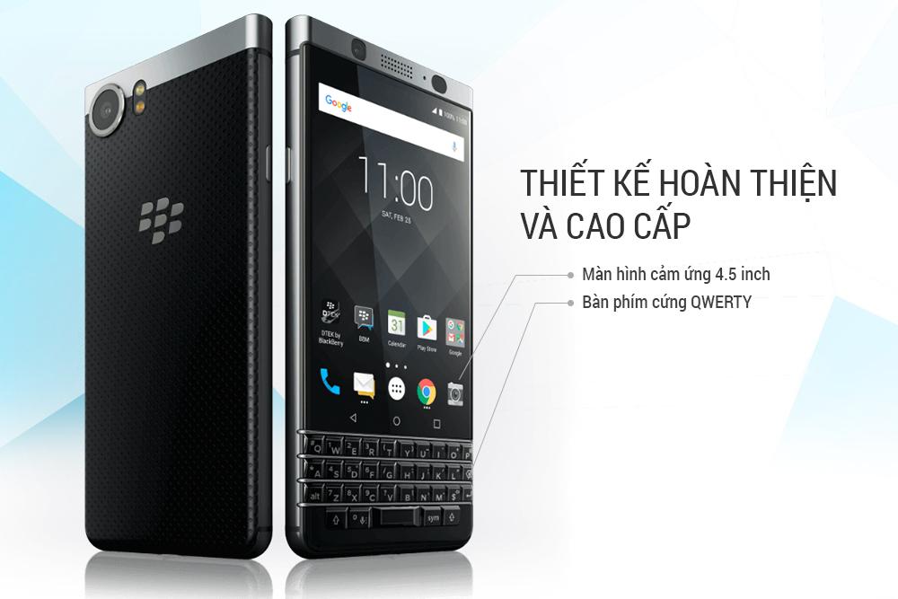 Điện Thoại BlackBerry KEYone - Hàng Chính Hãng