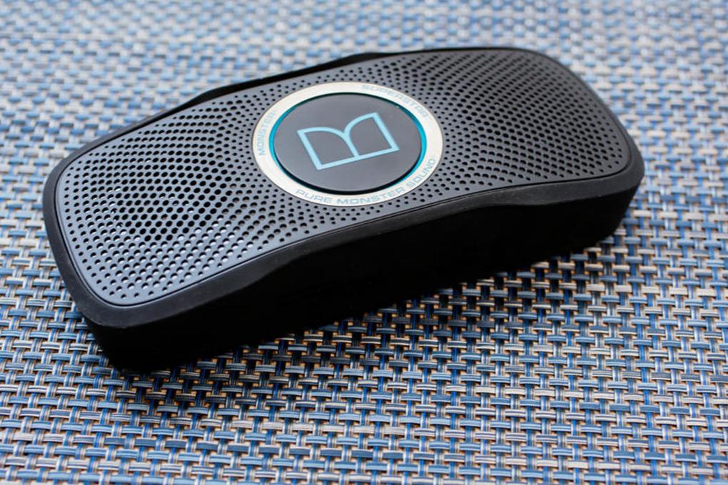 Loa Bluetooth Monster SuperStar BlackFloat