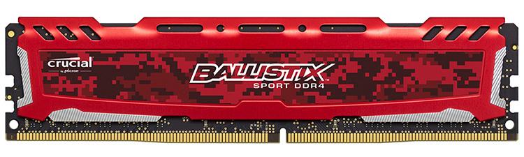 RAM PC Crucial DDR4 4GB 2400 - BLS4G4D240FSE