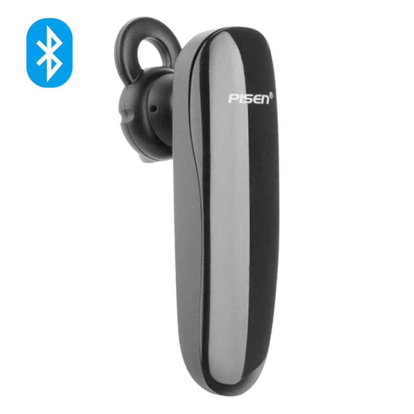 Tai Nghe Bluetooth Pisen LE001+ (Đen) - Hàng Chính Hãng