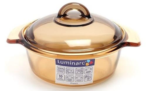 Bộ Nồi Thủy Tinh Luminarc Amberline LR2050 – 1.5L + 3L