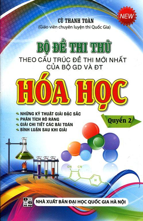 Bộ Đề Thi Thử Hóa Học (Quyển 2) - 8935092530864,62_131888,223000,tiki.vn,Bo-De-Thi-Thu-Hoa-Hoc-Quyen-2-62_131888,Bộ Đề Thi Thử Hóa Học (Quyển 2)