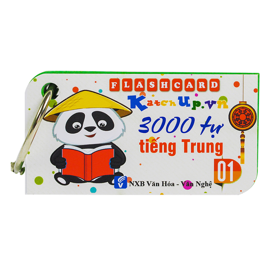 Bộ KatchUp Flashcard 3000 Từ Vựng Tiếng Trung  A - High Quality