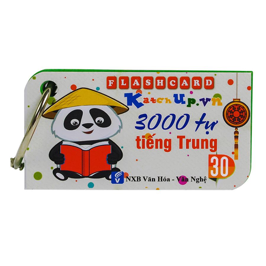 Bộ KatchUp Flashcard 3000 Từ vựng Tiếng Trung  B - High Quality