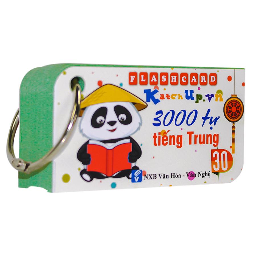 COMBO Trọn Bộ KatchUp Flashcard 3000 Từ Tiếng Trung - High Quality