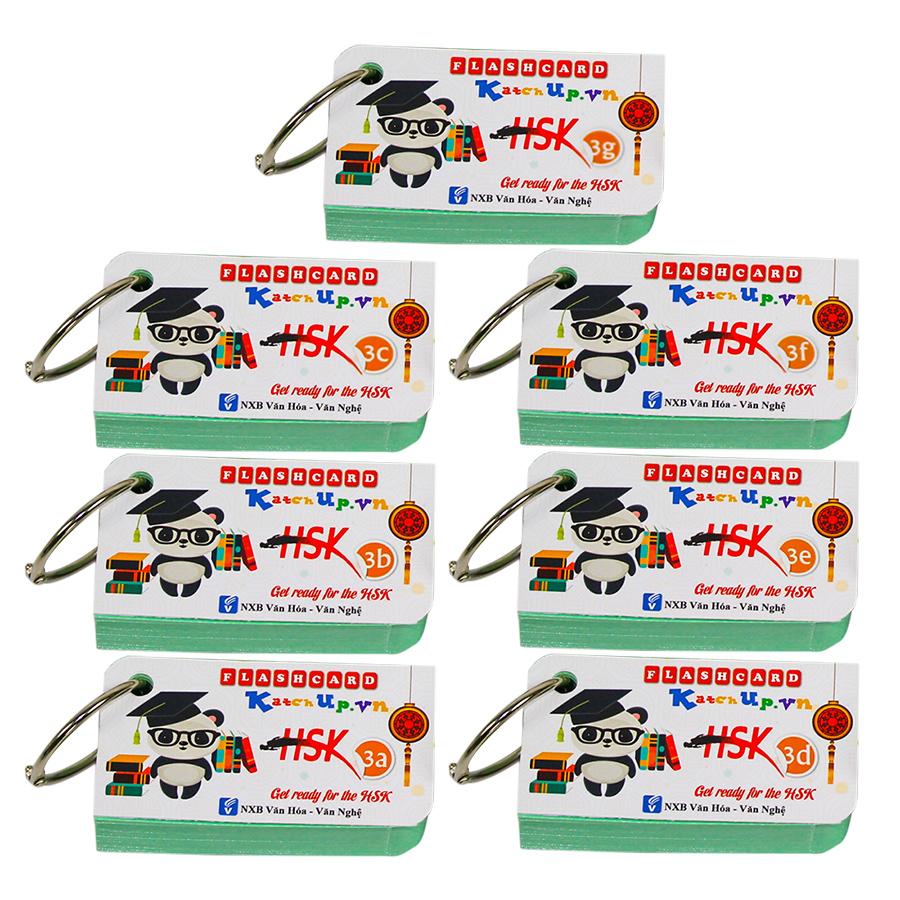 Bộ KatchUp Flashcard  HSK 3 - High Quality