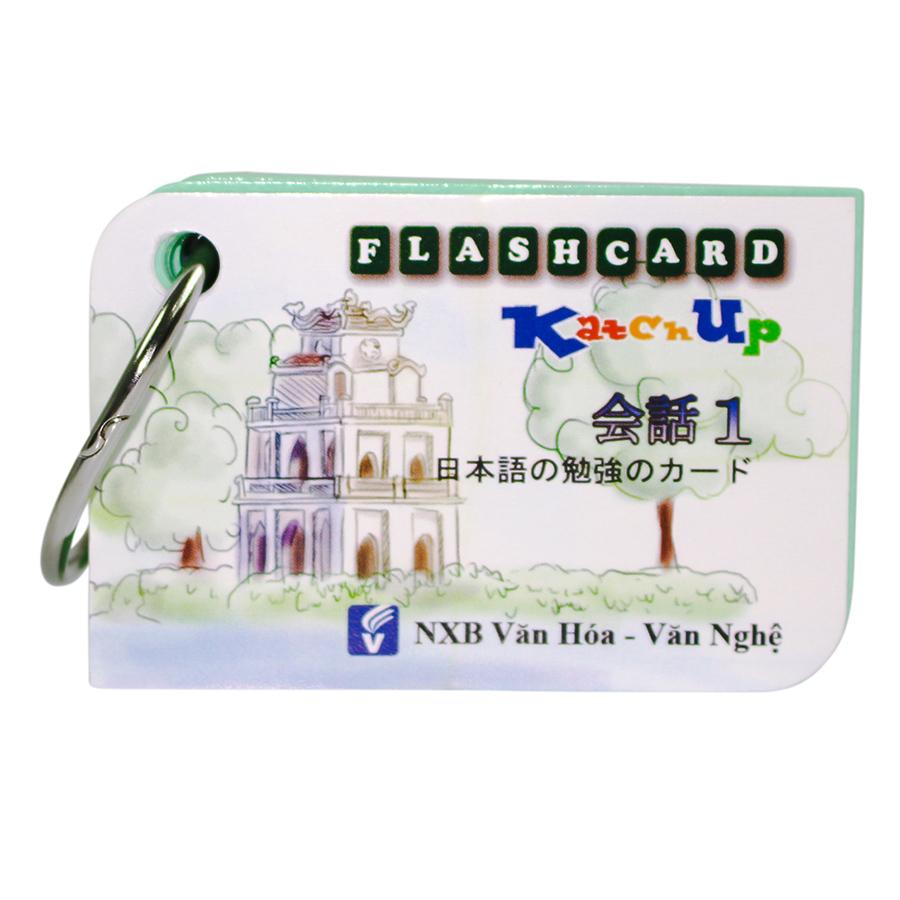 Bộ KatchUp Flashcard Mẫu Câu Giao Tiếp Kèm Thi JLPT Online