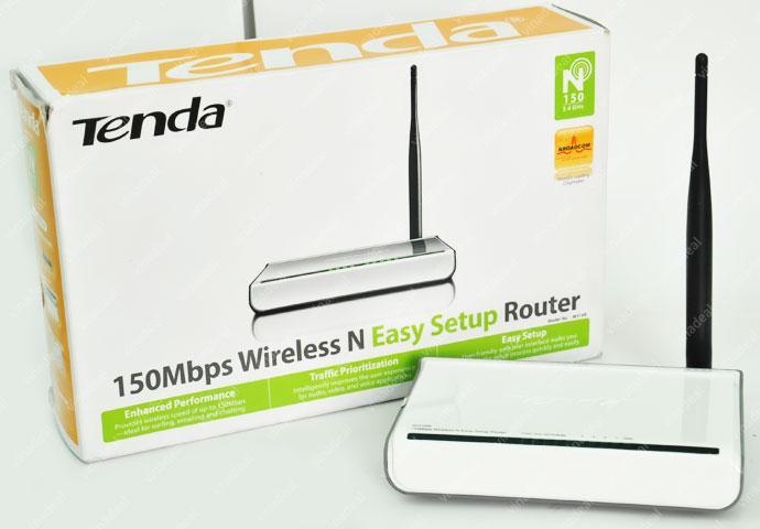 Tenda W316R – Router Chuẩn N Không Dây Tốc Độ 150Mbps
