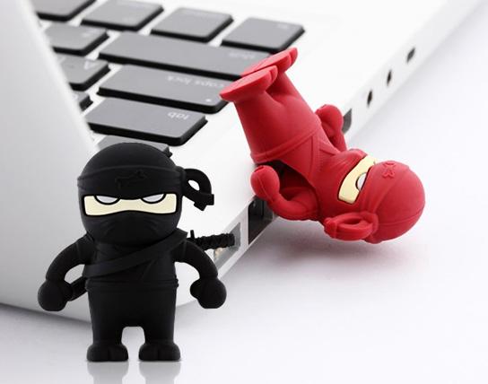 USB Bone 16GB Ninja - USB 2.0