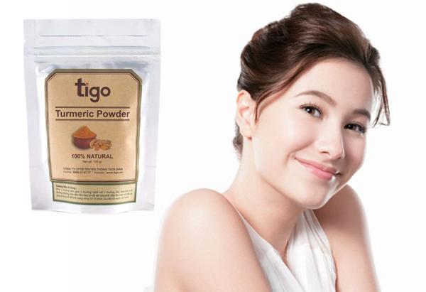 Bột Nghệ Nguyên Chất Tigo tumric powder (100g)