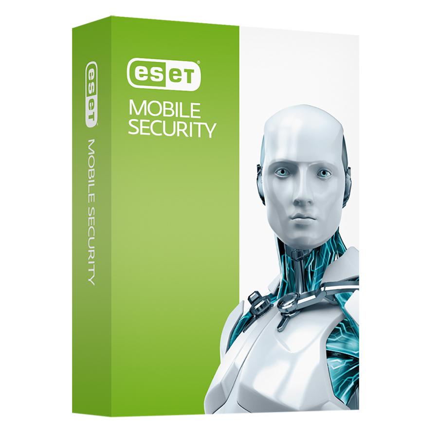Phần Mềm Diệt Virus Cho Điện Thoại Và Máy Tính Bảng Eset Mobile Security 1U1Y 1 Máy/ Năm - Hàng chính hãng