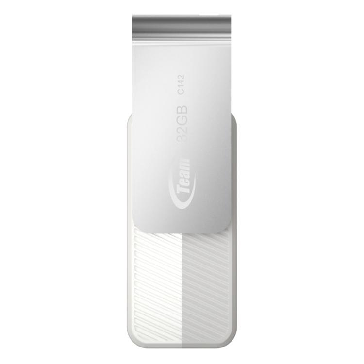 USB 32GB Team Group C142 + Tặng 1 Đèn LED USB - Hàng Chính Hãng