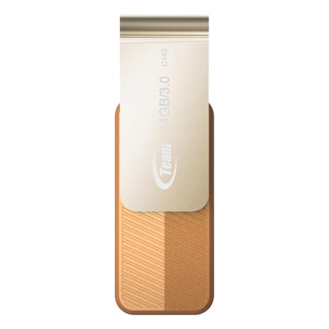USB 3.0 64GB Team Group INC C143 + Tặng Đèn LED USB - Hàng Chính Hãng