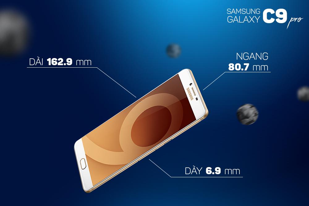 Samsung Galaxy C9 Pro (64GB) - Hàng Chính Hãng