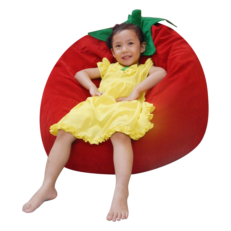 Ghế Lười Hình Quả Cà Chua Phú Mỹ GH-CACH-DOLA-060 (Đỏ)