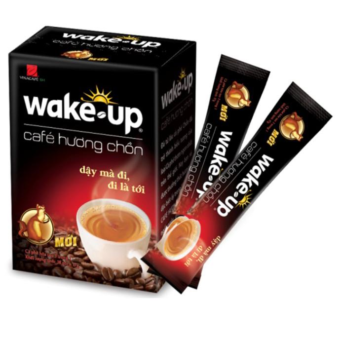 Cà Phê Wake Up Hương Chồn Vina Café (Hộp 18 Gói x 17gr) - 8934683008478,62_169697,49000,tiki.vn,Ca-Phe-Wake-Up-Huong-Chon-Vina-Cafe-Hop-18-Goi-x-17gr-62_169697,Cà Phê Wake Up Hương Chồn Vina Café (Hộp 18 Gói x 17gr)