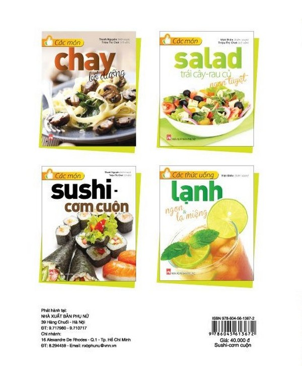 Các Món Sushi - Cơm Cuộn