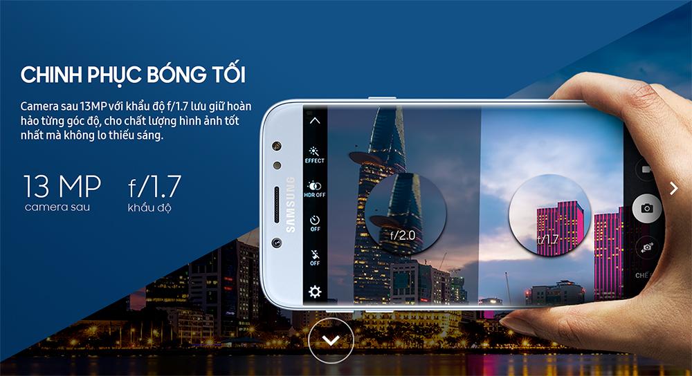Điện thoại Samsung Galaxy J7 Pro - Hàng Chính Hãng