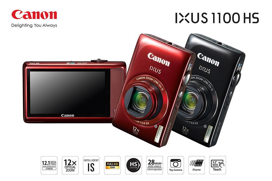 canon ixus 1100 hs 12 1 megapixels ch nh h ng gi t t. Black Bedroom Furniture Sets. Home Design Ideas