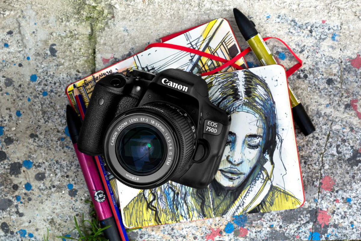 Máy Ảnh Canon EOS 750D + 18-55 STM (Lê Bảo Minh)