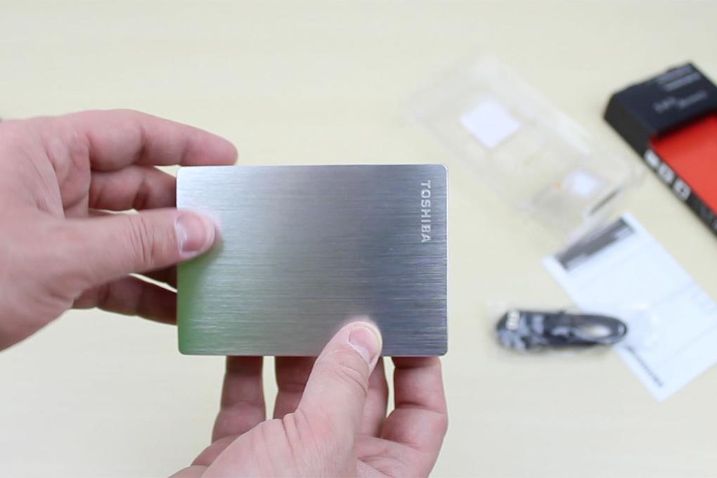 Ổ Cứng Di Động Toshiba CANVIO SLIM 1TB - USB 3.0