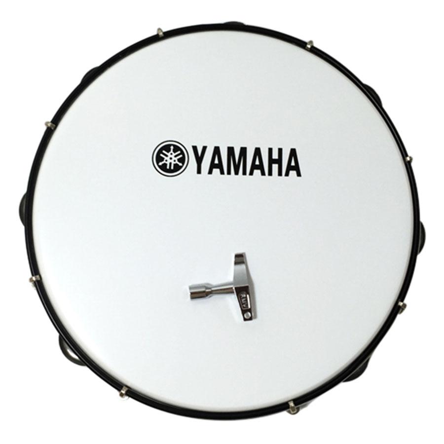 Combo Trống Lắc Tay Và Bao Đựng Lục Lạc Gõ Bo Tambourine Yamaha CB-MT6-102A - Trắng