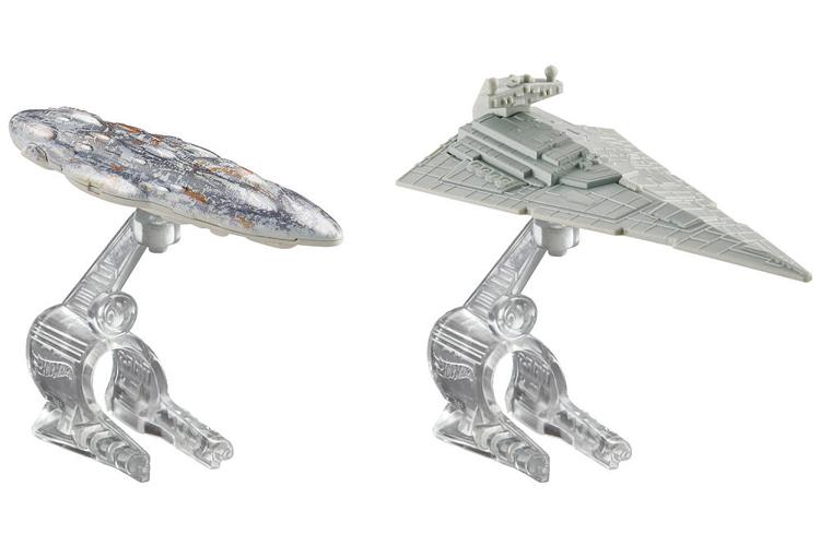Đồ Chơi Xe Hot Wheels - Bộ 2 Tàu Chiến Không Gian Star War CGW90