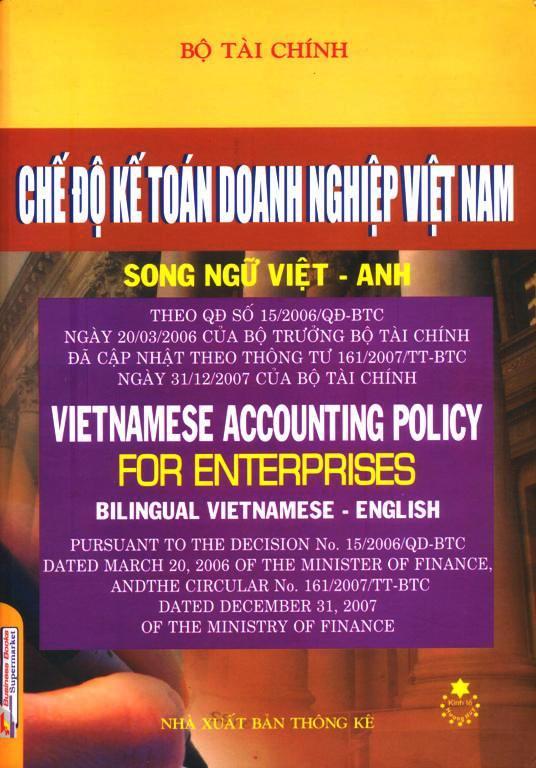 Chế Độ Kế Toán Doanh Nghiệp Việt Nam (Song Ngữ Việt – Anh)