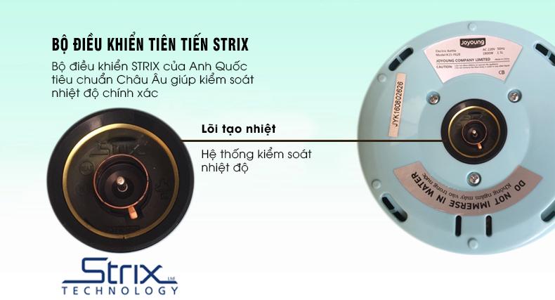 Bình Đun Siêu Tốc 2 Lớp Inox 304 JOYOUNG K15-F628 - 1.5L